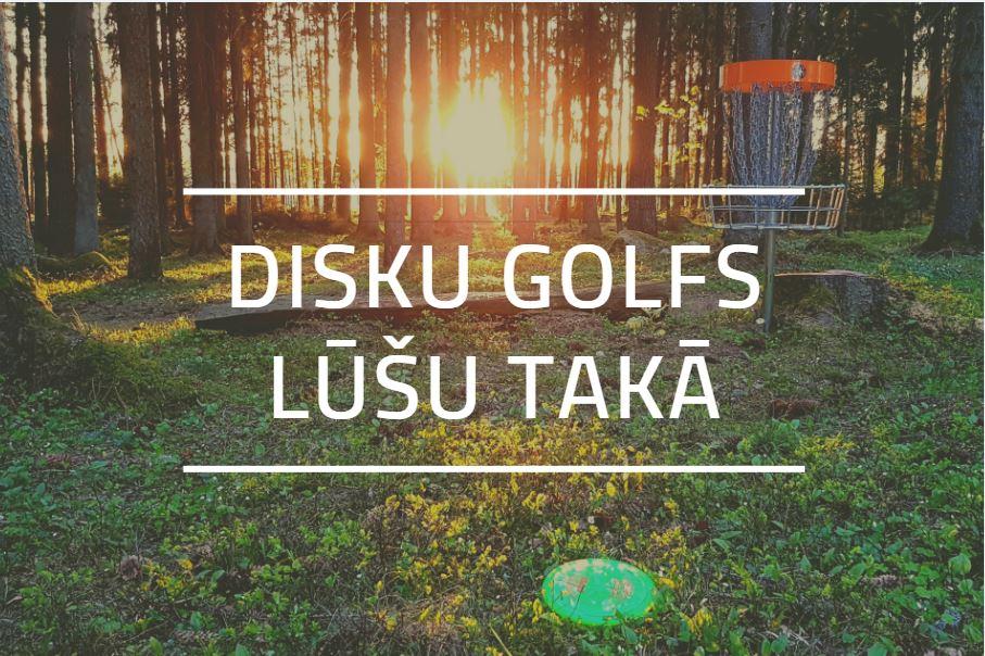 Disku golfs Lūšu Takā