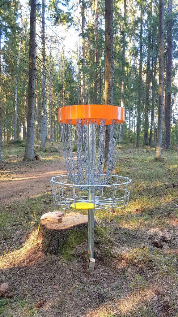 Disku golfs - Lūšu Taka