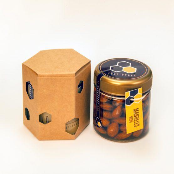 Dāvanu kastīte šūnas formā - Lūšu Drava