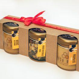 Trio komplekta kastīte dāvanām